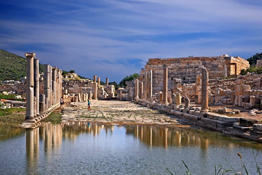 patara antik kent ile ilgili görsel sonucu