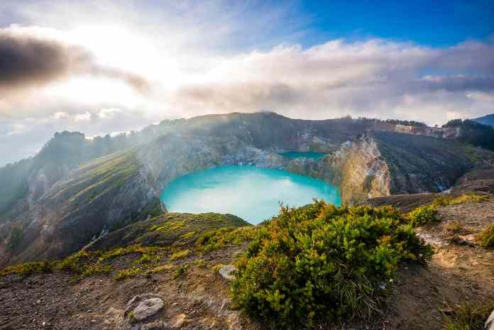 Kelimutu Volcanic Lakes
