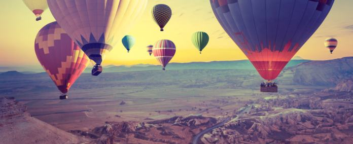 Kapadokya Nevşehir balonlar