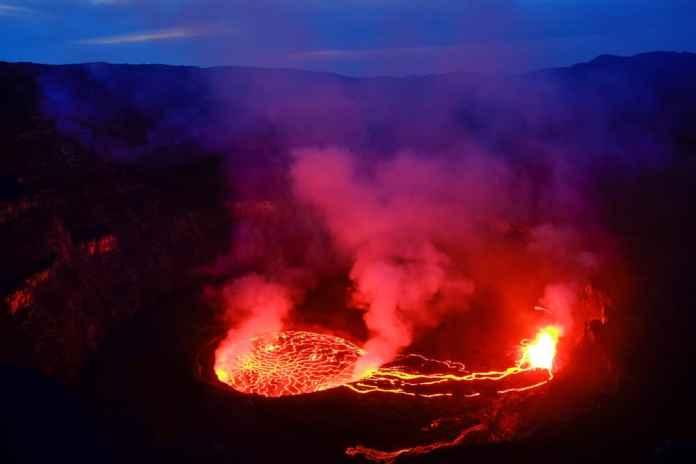 Virunga Dağları Patlama