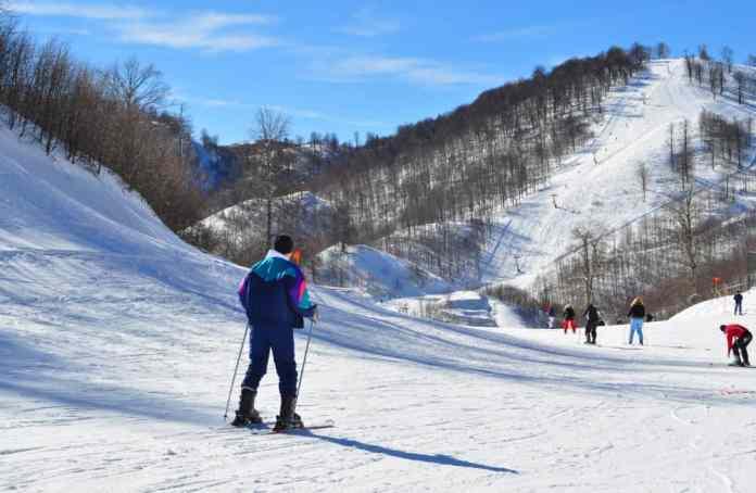 kartepe kayak merkezi pistleri