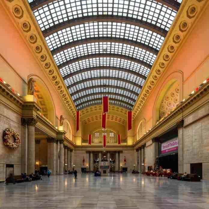 Chicago Union Tren İstasyonu, Chicago, Amerika Birleşik Devletleri
