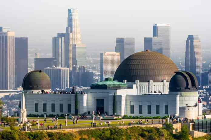 Griffith Park ve Gözlem Evi Los Angeles