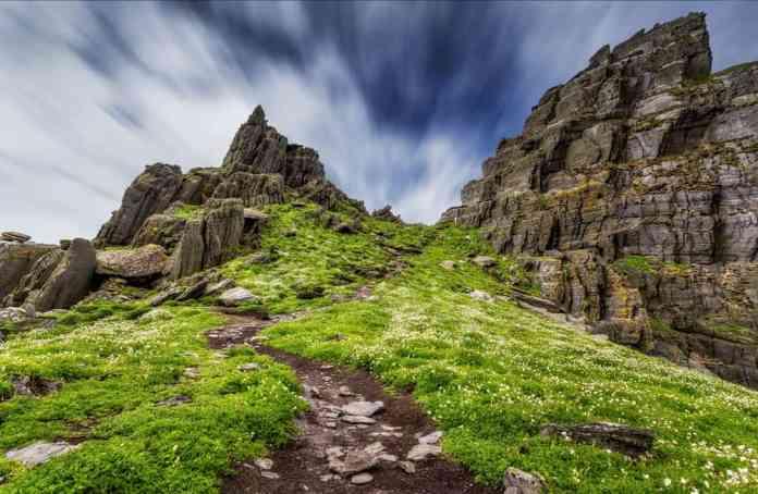 Skellig Michael Adası ve Brow Head, İrlanda