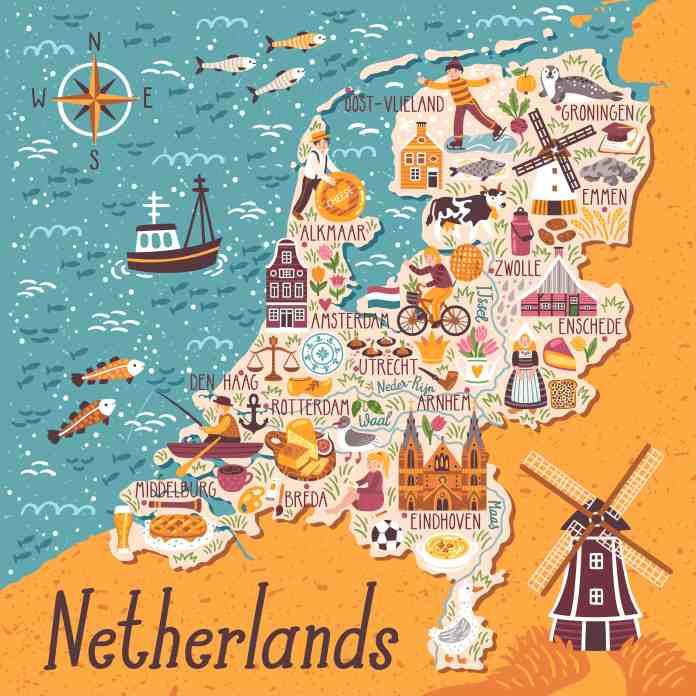 Hollanda Haritası