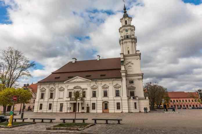 Kaunas Belediye Binası Litvanya