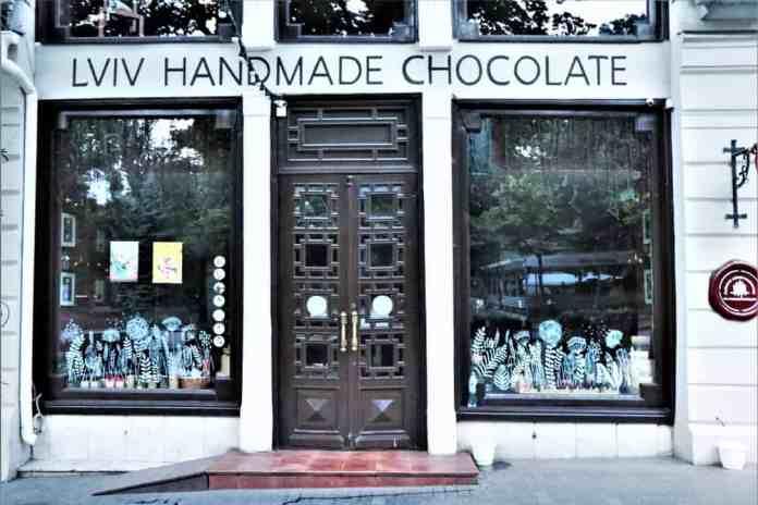 Lviv, Ukrayna Çikolata