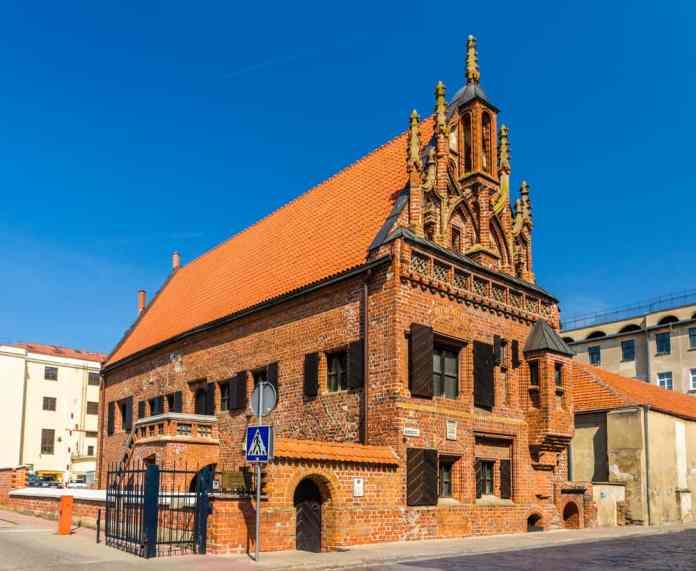 Kaunas, Perkunas Evi, Litvanya