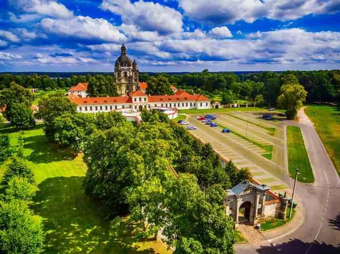 Pažaislis Manastırı ve Kilisesi Kaunas, Litvanya