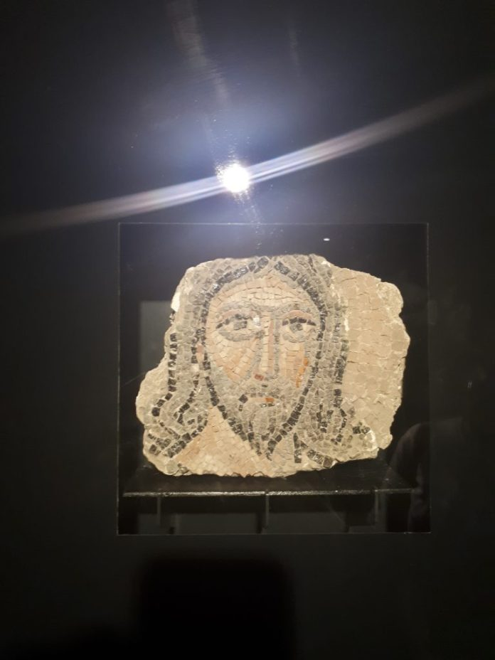 İsa Mozaiği, Mozaik Müzesi, Urfa