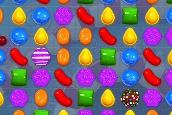candy crush screen
