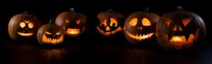 Spooky pumpkins image