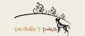 Pedals 4 Paws logo