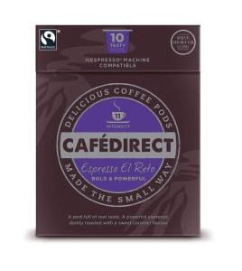 Image of free Cafédirect El Reto Nespresso Compatible Pods
