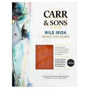 Image of wild salmon packaging