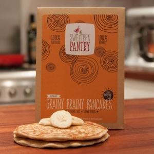 Image of Sweetpea Pantry Brainy Grainy Pancake mix