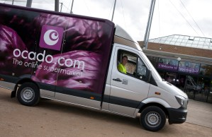 Image of an Ocado delivery at Twycross Zoo