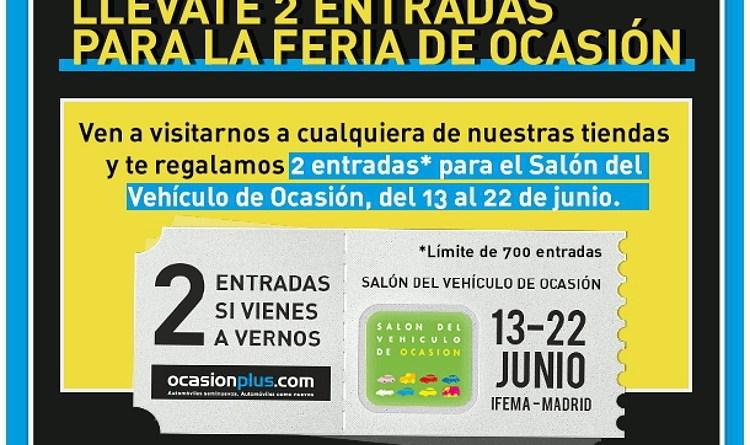 OcasionPlus en el Salón del Vehículo de Ocasión de Madrid