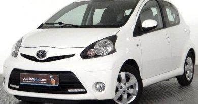 Toyota Aygo de segunda mano en Madrid