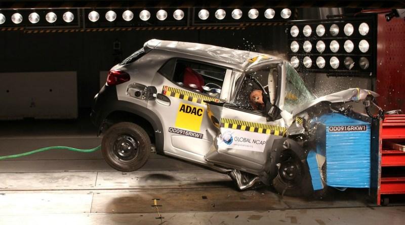 Renault Kwid test de impacto
