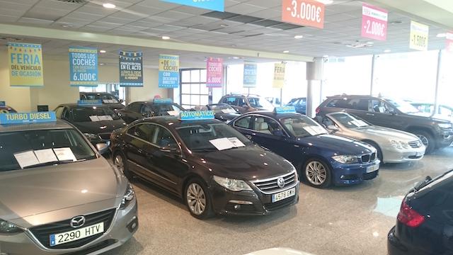 Los coches de segunda mano más vendidos