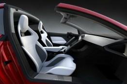 Habitáculo del Tesla Roadster