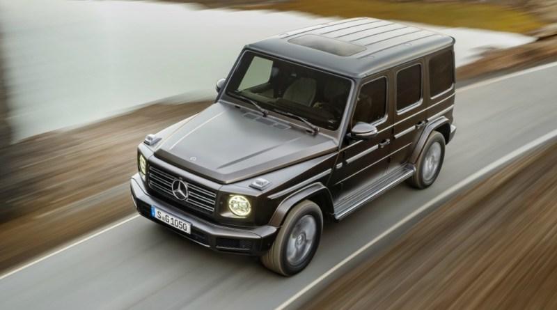 Exterior Clase G Mercedes