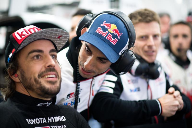 Alonso en las 24 horas de Le Mans
