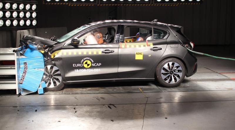 Ford Focus, 5 estrellas Euro Ncap