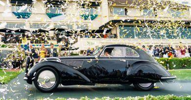 Alfa Romeo 8C 2900B Touring de 1937, el más elegante en Pebble Beach