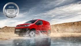 El Citroën Berlingo, elegido Vehículo Comercial del año
