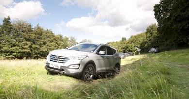 El Hyundai Santa Fe, escogido como coche ideal para los golfistas