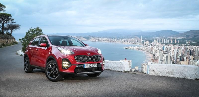 Uno de los SUV más vendidos es el Kia Sportage