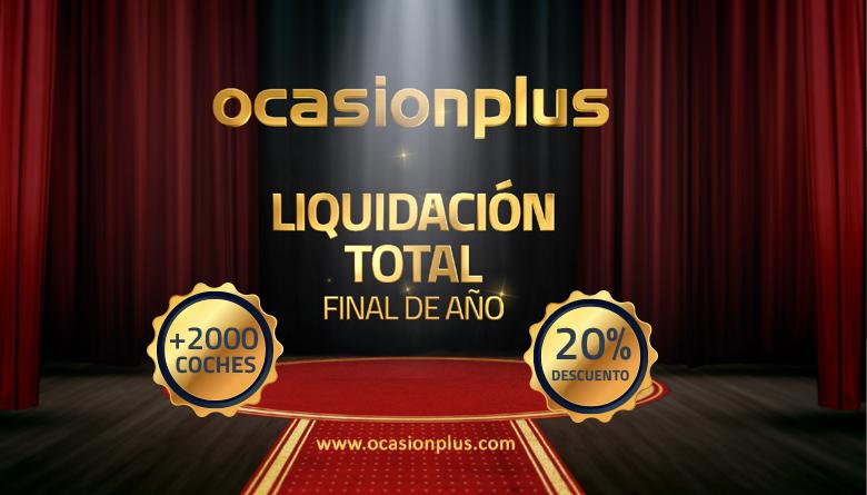 Llega la liquidación total de OcasionPlus, la última oportunidad del año para comprar un coche