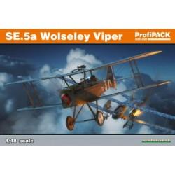 Marca Eduard - Caza SE.5a Wolseley Viper. Edición profipack. De la WWI. kit de plástico listo para ensamblar y decorarEscala 1:48. Ref: 82131.