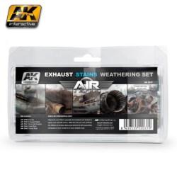 AK Interactive - Set de desgaste de las manchas de escape ( serie air). Ref: AK2037.