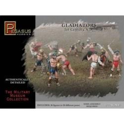 Pegasus - Figuras de Gladiadores del 1º siglo A.D. Escala 1:72, Ref: 7100.