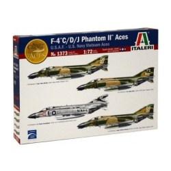 Italeri - F-4 C/D/J Phantom II Aces. Escala 1:72.,Ref: 1373