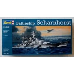 Revell - Buque Scharnhorst, Escala: 1:1200, Ref: 05136