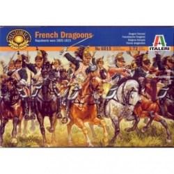 Italeri - Figuras de la Caballería Pesada Francesa: Dragones 1805. Escala 1:72, Ref: 6015.