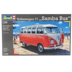 Revell - Wolkswagen Type 1 Samba bus, 1940. Escala 1:24. Ref: 07399