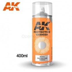 AK Interactive - Barniz protector en spray, Cantidad 400 ml., Ref: AK1015.