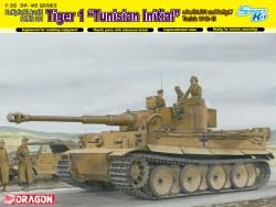 Sd.Kpfw.VI Ausf.E Sd.Kfz 181 Tiger I » Tunisian Inicial «. Escala 1:35. Marca Dragon. Ref: 6608.