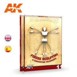 Escultura de Figuras y Técnicas de conversión – LEARNING 11. Marca AK Interactive. Ref: AK513.