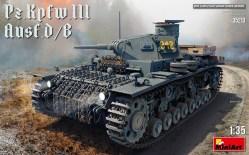 Pz.Kpfw.III Ausf. D/B. Escala 1:35. Marca Miniart. Ref: 35213.