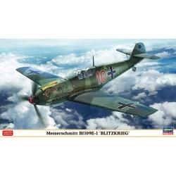 """Messerschmitt Bf109E-1 """"BLITZKRIEG"""", Edición Limitada. Escala 1:48. Marca Hasegawa. Ref: 07478."""