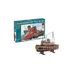 Harbour Tug Boat. Escala: 1:108. Marca: Revell. Ref: 05207.