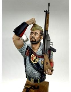 Caballero Legionario. Escala 1:10. Marca Kilgore HD Miniature. Ref: Caballero Legionario.