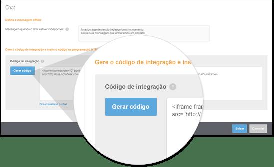 Octadesk chat atendimento online integração