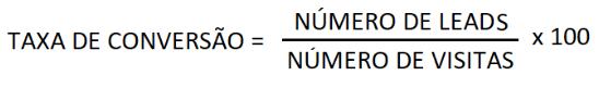 como calcular a taxa de conversão?